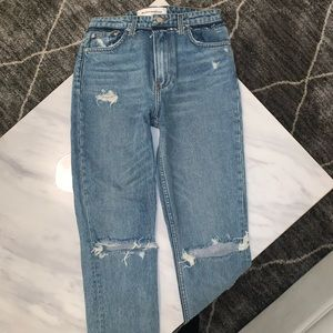 Reformation straight leg jeans size 25